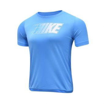 Nike NK Trophy GFX Short Sleeve Boy's - Blue