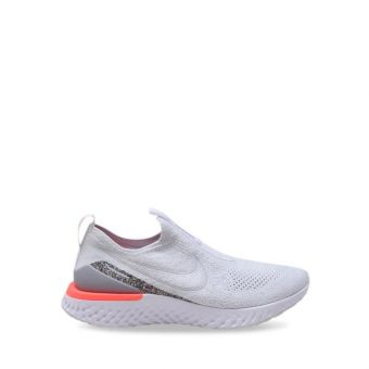 Nike Epic Phantom React Flyknit Icon Clash Women's Running Shoes - White
