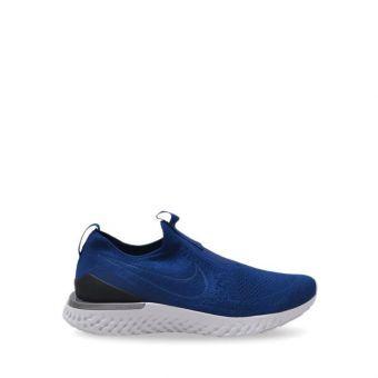 Nike Epic Phantom React Flyknit Men's Running Shoes - Blue