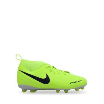 Nike Junior Phantom VSN Club DF FG Girl's Football Shoes - White