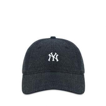 New Era New York Yankees 920 Mini Logo Men's Cap - Black