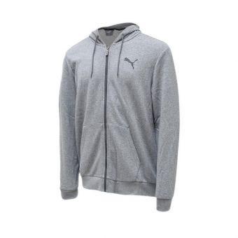 PUMA ESS FZ Hoody TR Men's - Grey