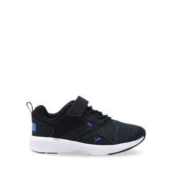 Puma NRGY Comet Preschool Kids Running Shoes - Black