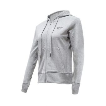 Reebok Vector Hoodie Women's Casual Clothing - Misty Grey