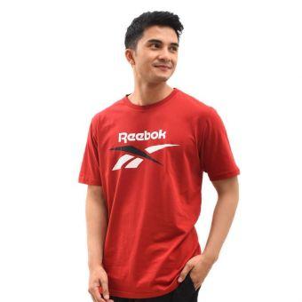 Reebok Men's LIFESTYLE TEE - Red
