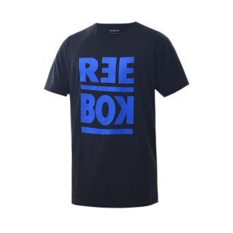 Reebok RM Basic Men's Graphic Tee - Black
