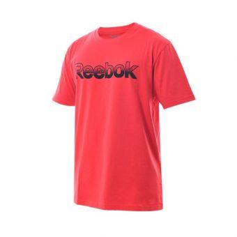Reebok RM Basic Men's Graphic Tee - Red