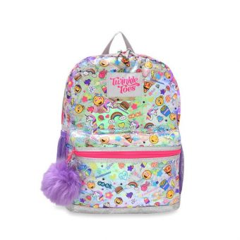 Skechers Twinkle Toes Glow Moji Girl's Backpack - Multicolor