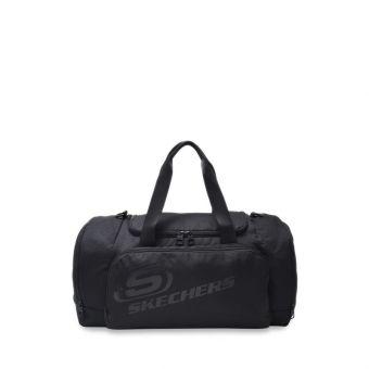 Skechers Unisex Austin Duffle Bag - Black