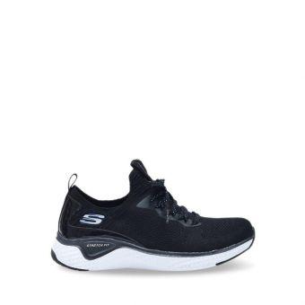 Skechers Solar Fuse - Gravity Experience Women' Sneaker Shoes - Black