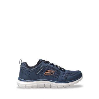 Skechers Track - Knockhil Men's Sneaker Shoes - Black