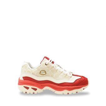 Skechers Energy CNY Men's Sneaker Shoes - White Red