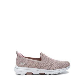 Skechers GOwalk 5 - Brave Women's Sneaker Shoes - Mauve