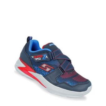 Skechers S Lights: Erupters III Boys Sneakers Shoes - Navy