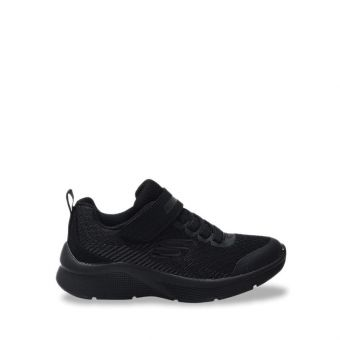 Skechers Microspec - Gorza Boy's Sneaker Shoes - Black