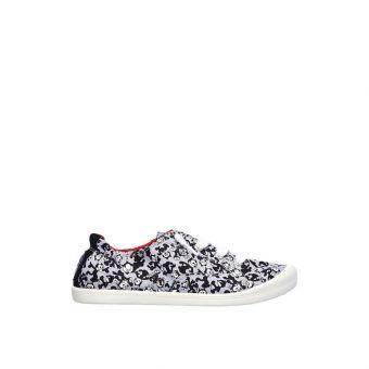 Skechers BOBS Beach Bingo - Gato Official Women's Sneakers Shoes - Grey Black