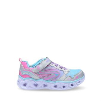 Skechers S Lights: Heart Lights - Love Spark Girl's Sneaker Shoes - Multicolor