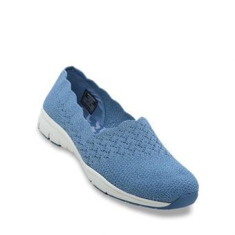 Skechers Seager - Stat Women Casual Shoes - Denim