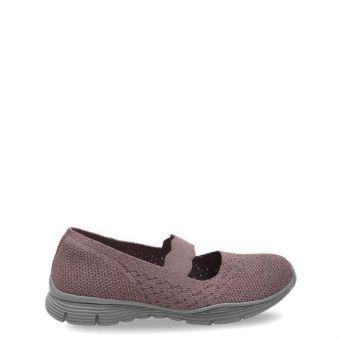 Skechers Seager-Power Hitter Women's Leisure Shoes - Dark Rose