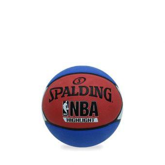 Spalding 2019 NBA Higlight Rub S7O Basketball - Blue