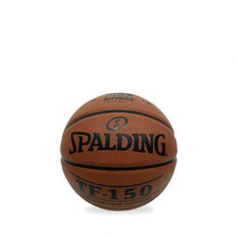 Spalding 2019 TF-150 Rub S5O FIBA APV Basketball - Brown