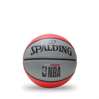 Spalding 2019 Nbatriple Threat S7O Basketball - Red