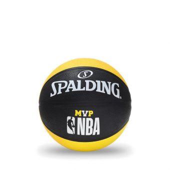 Spalding 2019 Nba Mvp Rub S5O Basketball - Yellow