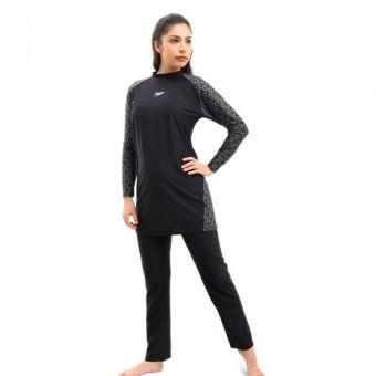 Speedo AF S120 PF CST 2PC Women's Bodysuit - Black