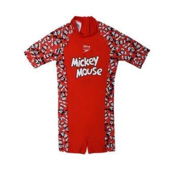 Speedo DC AI1 Mickey Mouse Kid's Swimwear - Red