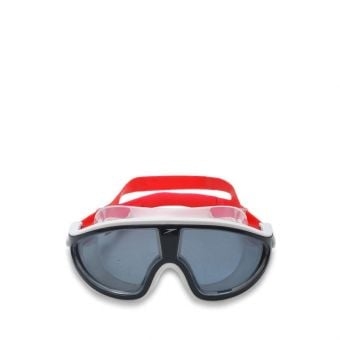 Speedo AU Biofuse Rift Swimming Goggle - Red/Grey