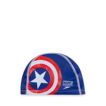 Speedo Disney Captain America Junior Pace Kids' Swimming Cap