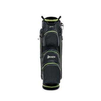 Srixon Waterproof Golf Cart Bag - Charcoal/Lime/White