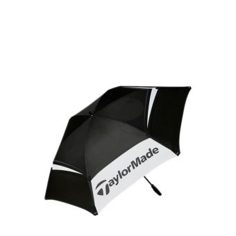 Taylormade Made Double Canopy Unisex Umbrella - Black White