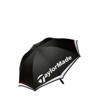 Taylormade Made Single Canopy Unisex Umbrella - Black