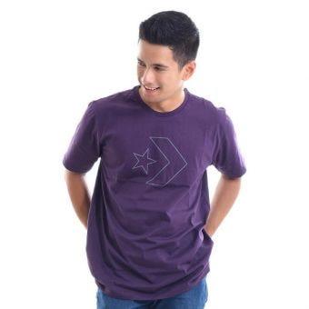 Converse Men's T-Shirt - Purple