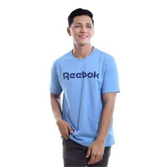 Reebok RM Basic Men's Graphic Tee - Blue