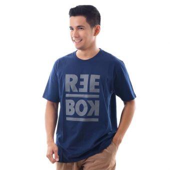 Reebok RM Basic Men's Graphic Tee - Navy