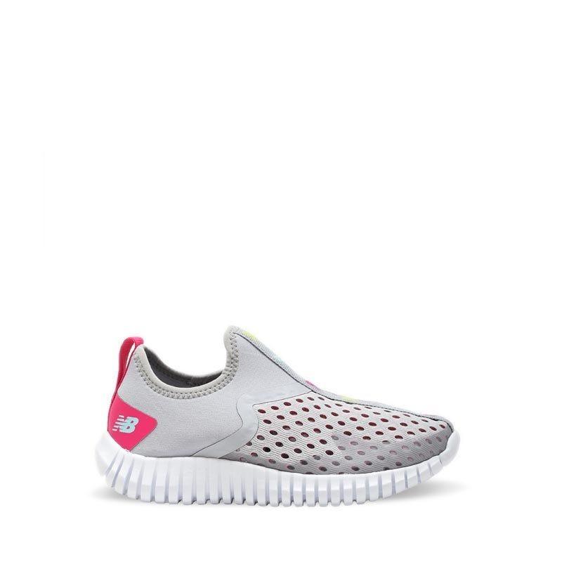 New Balance Aqua Drift Girl's Grade School Sneaker Shoes - Grey Pink |  PlanetSports.Asia