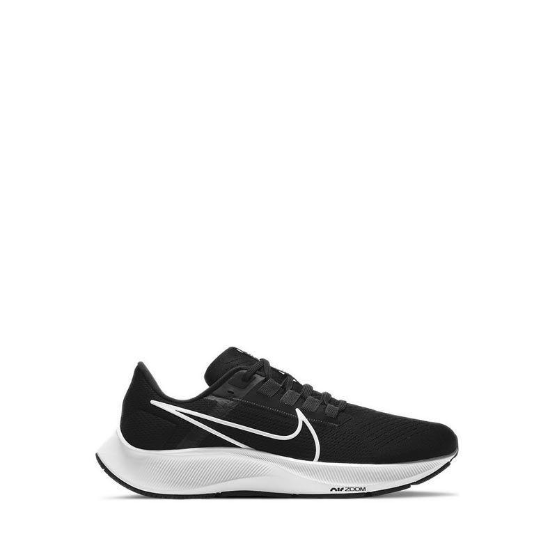 Nike Air Zoom Pegasus 38 Men's Running Shoes - BLACK/WHITE-ANTHRACITE-VOLT