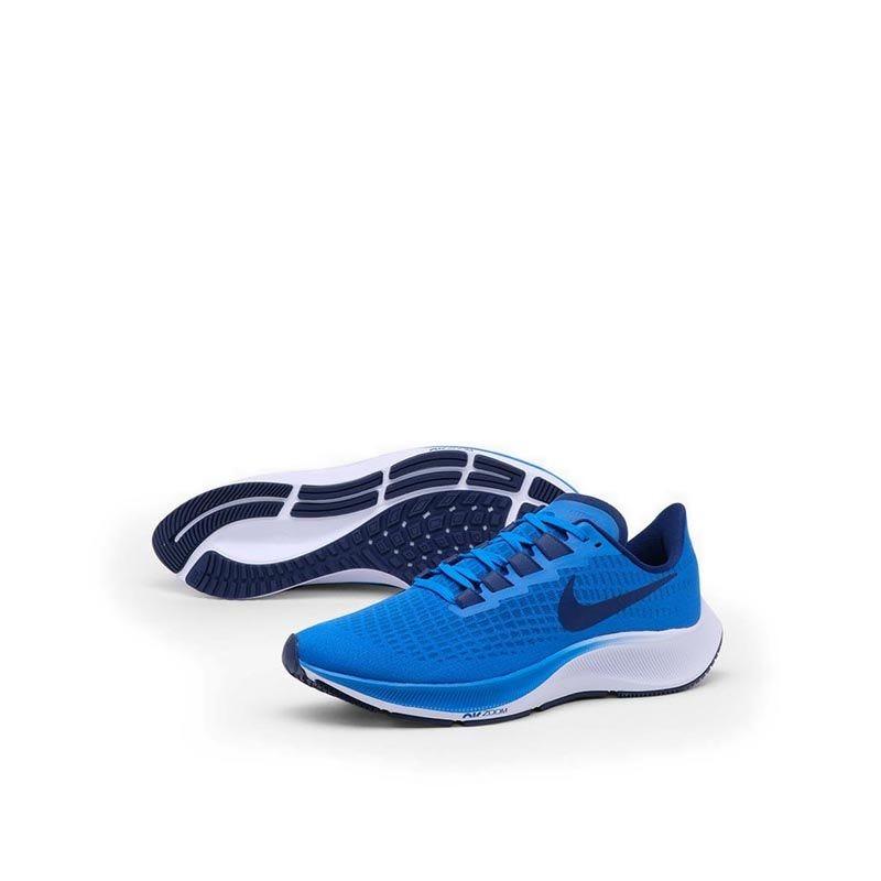 Jual Nike Air Zoom Pegasus 37 Men's Running Shoes - Blue/White ...