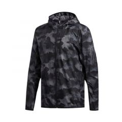 Adidas Own The Run Men's Running Camouflage Jacket - Multicolor