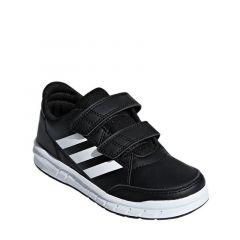 Adidas AltaSport CloudFoam Kids Unisex Running Shoes - Black