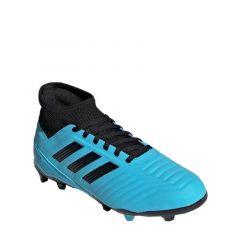 Adidas Predator 19.3 Firm Ground Boys Soccer Shoes - Cyan