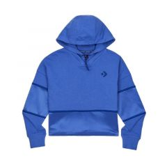 Converse Colorblock Shine PO Women's Hoodie - Blue