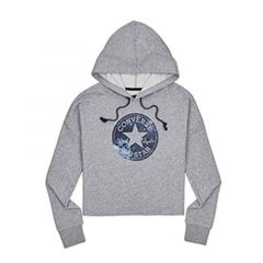 Converse Chuck Patch Nova Women's Hoodie - Grey