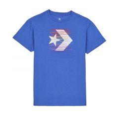 Converse Rainbow Thread Icon Remix Women's Tee - Blue