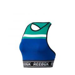 Reebok Workout Meet You There Low-Impact Women's Training Bralette - Blue