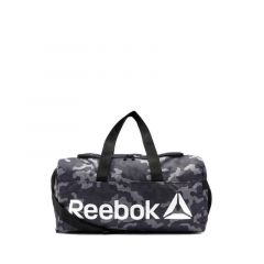 Reebok Core Graphic Medium Grip Duffel Bag - Black