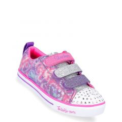 Skechers Twinkle Toes - Sparkle Light Rainbow Brights Girls' Sneakers Shoes