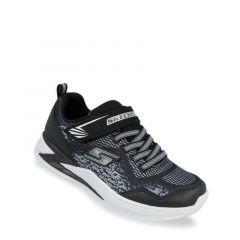 Skechers S Lights: Erupters III - Derlo Boys Sneakers Shoes - Black Silver